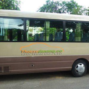 thuê xe theo ngày tại đà nẵng 29 chỗ hyundai county