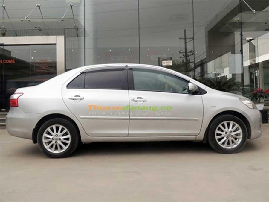 Thuê xe hợp đồng, xe tháng 4 chỗ Toyota Vios