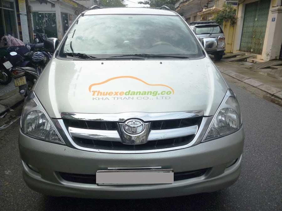 Thuê xe hợp đồng, xe tháng 7 chỗ Toyota Innova