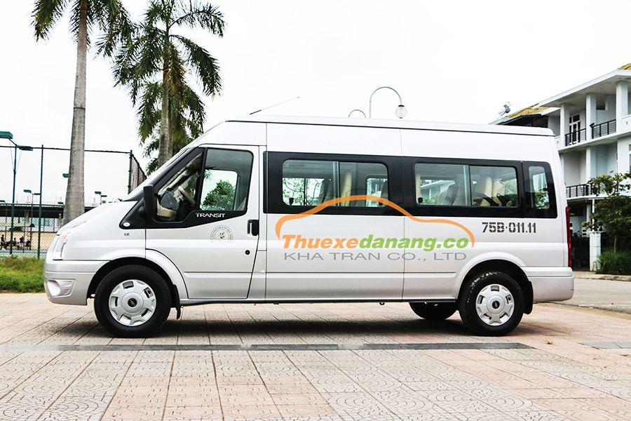 thuê xe ford transit 16 chỗ tại đà nẵng