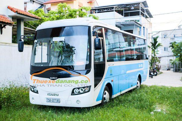 thuê xe Đà Nẵng đi Quảng Ngãi 29chỗ