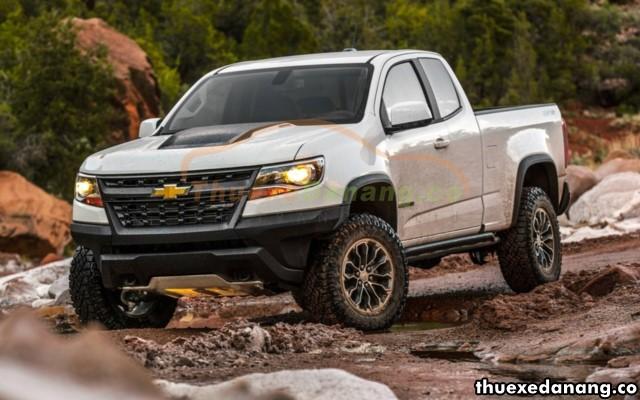 thuê xe bán tải 2 cầu tại đà nẵng Chevrolet Colorado
