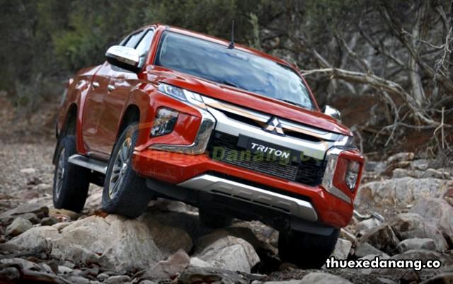 thuê xe bán tải Mitsubishi Triton tại đà nẵng