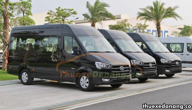 thuê xe đưa đón nhân viên tại đà nẵng Hyundai Solati