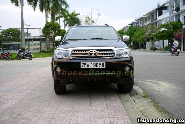 thuê xe suv 7 chỗ Toyota Fortuner 2 cầu tại đà nẵng